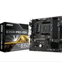 MSI B350M PRO VDH - AM4 AMD-PROMONTORY B350 -DDR4 USB 3 KMT5