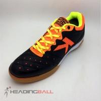 Sepatu Futsal Kelme Original Feline Evo Black Orange 55 OL2