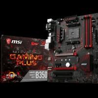 MSI B350 Gaming Plus AM4 AMD Promontory B350 DDR4 USB3. KMT5