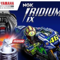 BUSI NGK IRIDIUM CR8EIX ASLI YAMAHA VIXION NEW / MX KING / JUP MX