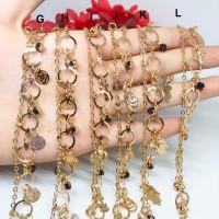Gelang Kaki Fashion Anklet Batu Putih Hitam Emas Dubai India - BB312