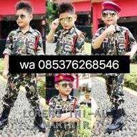 TNI AD kopasus/ baju profesi anak/ kostum anak