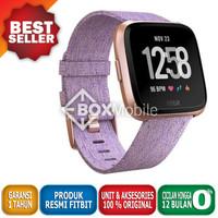 Fitbit Versa SE Special Edition Lavender Woven Strap Garansi Resmi