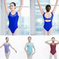 Baju Balet Ballet Remaja Dewasa Leotard Adult Camisole Tank Top Mesh