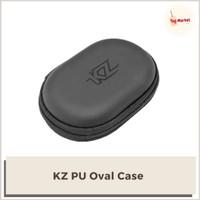 KZ PU Oval Storage Case Box Bag