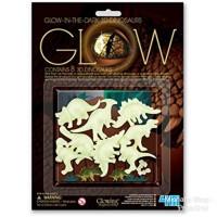 4M Sticker Glow In The Dark 3D Dinosaurus Stiker Dinding Rumah