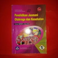 buku pelajaran pendidikan jasmani SMP kelas 1 BSE Sodikin