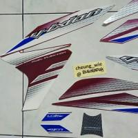 Lis body/ Striping Yamaha New Vixion Lightning NVL Ungu 2014
