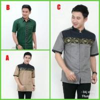 kemeja batik / baju koko batik pria / batik pria