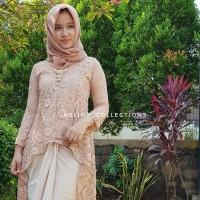 Kebaya (Atasan) Muslim Modern Gayatri Brukat / brokat batik wanita new