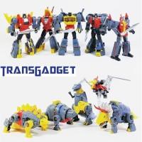 MFT Transformers Dinobot G1 - Grimlock - Slag - Swoop - Snarl - Sludge