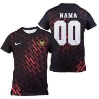 Kaos Jersey Sepak Bola Futsal Costum Fullprint ad07 - XS