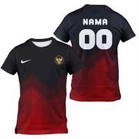 KAOS jersey sepak bola futsal ad03 full print CUSTOM Size S - XXXL - XS