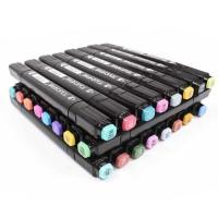 TOUCHNEW BV Spidol Dual Side Fine Art Marker 30 Color - touchbool