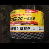 BAN DUNLOP DGX 01 100 100 18. TYRE MOTOCROSS COMPETITION TRAIL CRF KLX
