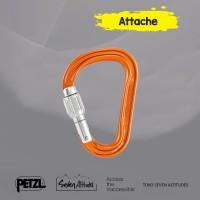 Carabiner Attache Petzl Screw Lock