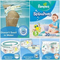 Pampers Renang S 6-11kg Celana Bayi Balita Berenang Splashers Swim Dia