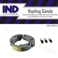 Kampas-Kanvas-Per Kopling Ganda Otomatis-Auto Mio M3-Z/Soul GT 125