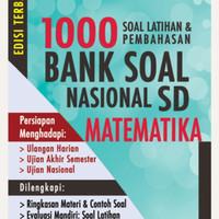 Buku 1000 bank soal nasional SD matematika