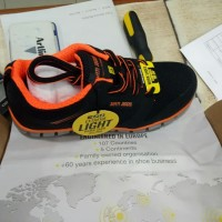 Sepatu Safety Ringan Ligero ESD S1P Orange - Oren Safety Jogger Shoes