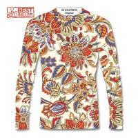 sz graphics t shirt wanita kaos wanita baju batik lengan panjang