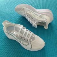Nike Zoom Gravity Full White Running Shoes Couple Premium Original