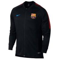 Jaket Jersey Bola Nike FC Barcelona Dry Squad ORIGINAL Black