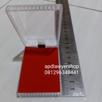 Kotak Box Cepuk Mika Kotak Pin Cincin Kalung Anting Gelang Aksesoris