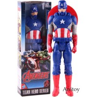 Action Figure Marvel Avengers Titan Seri Captain America untuk Koleksi