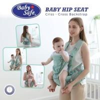 Baby Safe Gendongan Bayi Depan / Hip Seat Criss Cross Backstrap / BC07