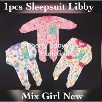 Sleepsuit atau Jumper Panjang Libby Tutup Kaki cherrybabykidsshop