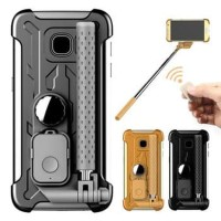 Tashells Built In Selfie Stick Case Bluetooth Samsung S7