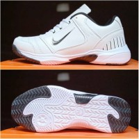 Sepatu tenis Nike resmi berkwalitas tinggi pria gila putih
