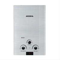 Modena Water Heater Gas Rapido Inox GI-10S Silver Stainless furniture