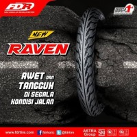 FDR Raven 80/90-17 TT Ban Motor Bebek Supra/Revo/jupiter/vega/smash