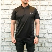 POLO SHIRT UNDERARMOUR COOLSWITCH NEW MODEL 2019 BAHAN SUPER ADEM