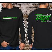 Baju Kaos Lengan Panjang Long Sleeve Kawasaki KLX Murah Keren 0808