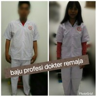 baju kostum profesi dokter remaja