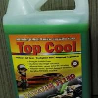 Top Cool Radiator Coolant 5 Liter - Air Radiator Hijau - Original