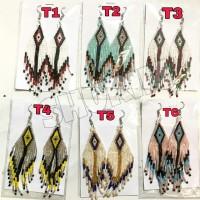 Anting Mote Etnik/beads earings/Bali/manik/boho/bohemian/fashion