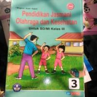 buku pendidikan jasmani olahraga dan kesehatan untuk SD kelas 3 Bse
