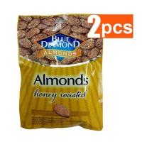 Blue Diamond Honey Roasted Kacang Almond 30 gr (2 Pcs)