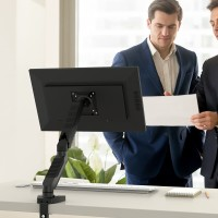 SitStand Single Monitor Gas Spring ARM Mount Stand Bracket Komputer TV