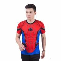 Kaos 3D Baju Spider Man Homecoming Avengers Full Print
