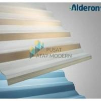 Alderon R830 (Natural/Transparan) Atap UPVC 10mm Garansi Resmi 10 Thn