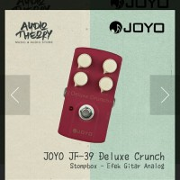 Efek Gitar Joyo JF 39 Deluxe Crunch Stombox Efek Gitar Analog