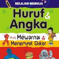 Buku Belajar Menulis Huruf dan Angka - Laksana