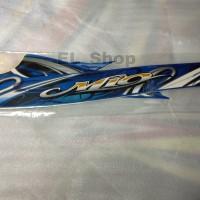 Lis striping motor Yamaha Mio sporty 2011 biru full kualitas bagus