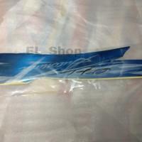 Lis striping motor Yamaha Mio sporty 2010 biru full kualitas bagus