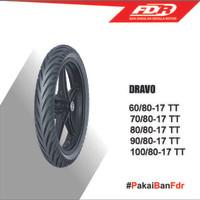 FDR Dravo 100/80-17 TT Ban Motor Bebek Supra/Revo/jupiter/vega/smash